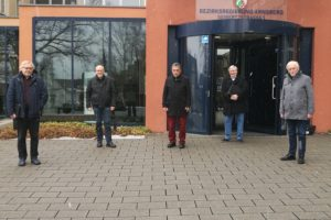 v.l.n.r.: Harald Metzger, Bernd Müller, Hans-Walter Schneider, Bernd Banschkus, Karl Ludwig Völkel